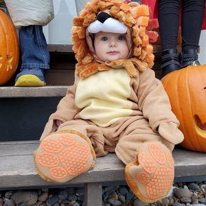 Lion baby costume 12-18 mo